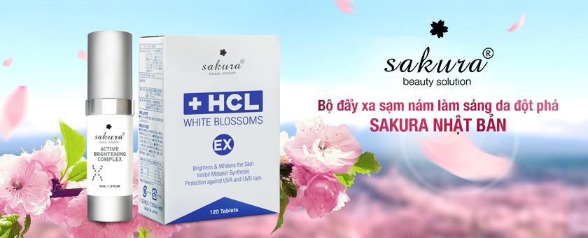 Bộ sản phẩm trị sạm da Sakura có hiệu quả không