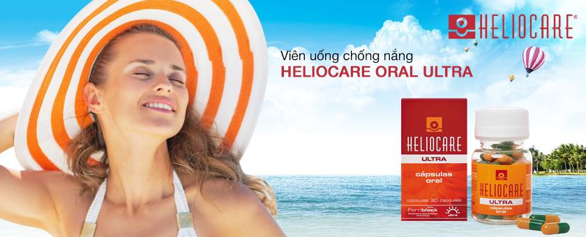 Kết quả hình ảnh cho Heliocare Ultra Oral - 30 viên