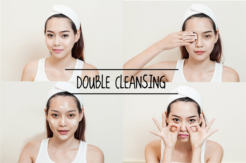 Double-cleansing
