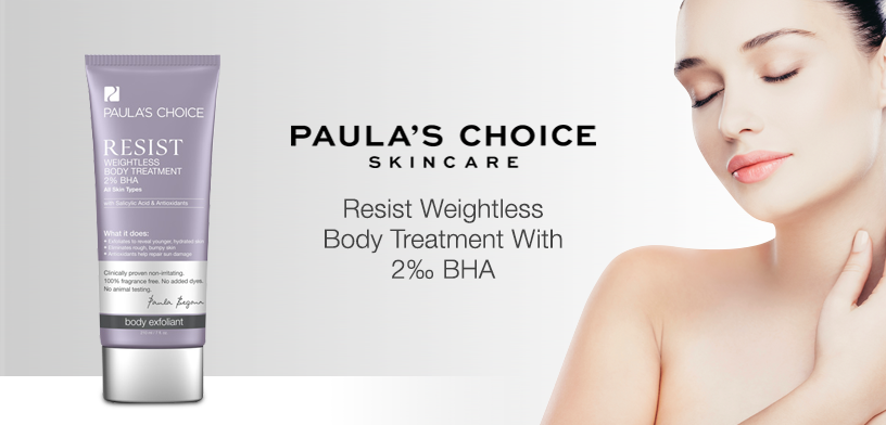 Image result for Paula's Choice Resist Weightless Body Treatment 2% BHA