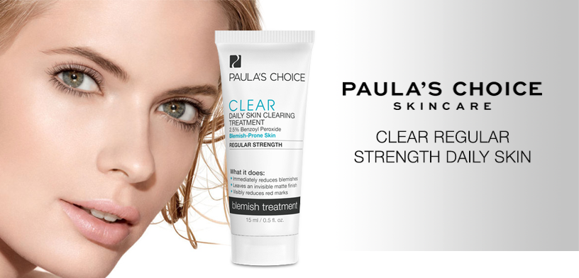 Kem giảm mụn Paula's Choice Clear Regular Strength Daily Skin (2,5% Benzol)