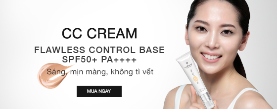 Kem trang điểm Sakura CC Cream Flawless Control Base SPF50+ PA++++