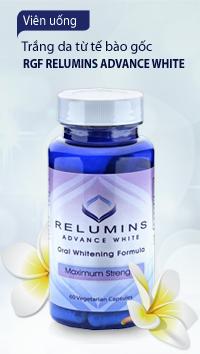 Viên uống trắng da từ tế bào gốc RGF Relumins Advance White