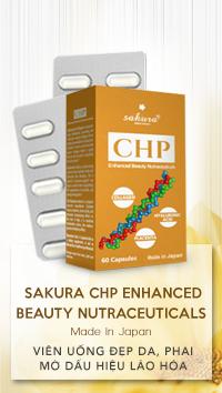 Viên Uống Đẹp Da Sakura CHP Enhanced Beauty Nutraceuticals 30 viên