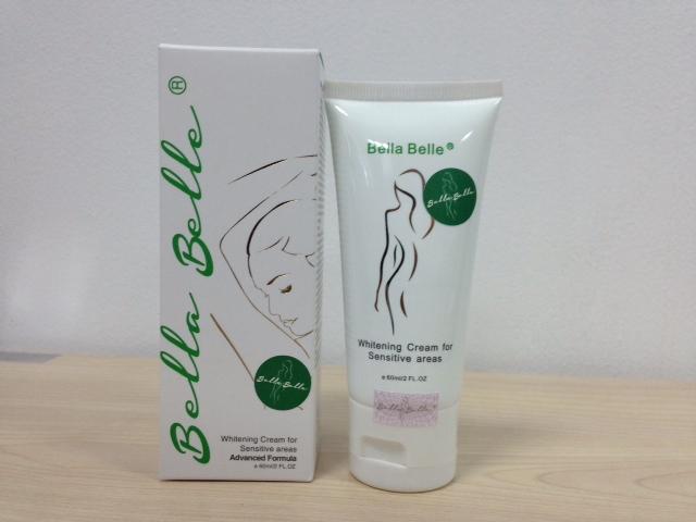 kem trang da vung nach bella Kem dưỡng trắng da vùng nhạy cảm Bella Belle treament cream for sensitive areas