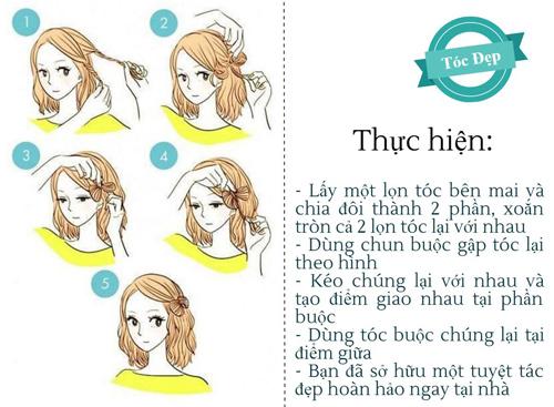 Tự làm mới chính mình bằng 6 kiểu tóc không tốn 1 đồng