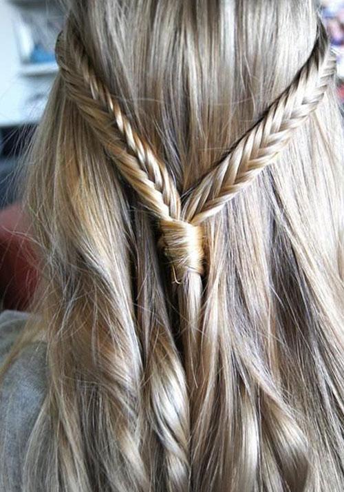 Những mẫu tóc tết đẹp đón mùa thu đang tới