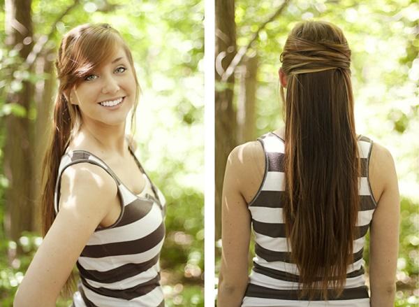 Ngày mới bận rộn với 3 kiểu tóc trong 5 phút