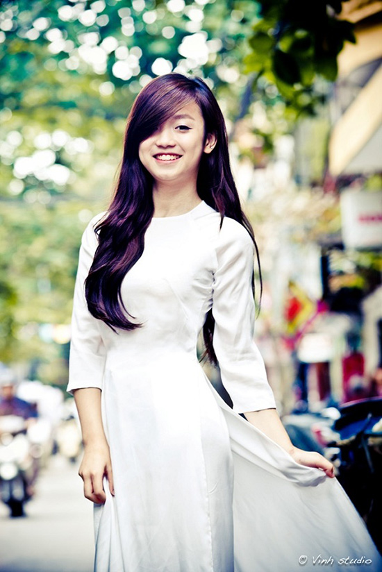 3 kiểu tóc nữ sinh Việt thích nhất khi diện áo dài đi học