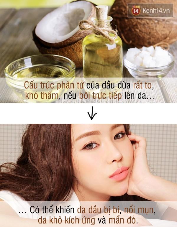 """""""Hỏng"""" hết da và tóc vì dùng dầu dừa sai cách"""