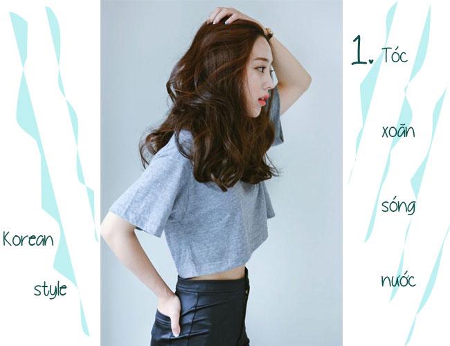"""6 mốt tóc đẹp Hàn Quốc khiến phụ nữ Việt  """"phải lòng"""""""