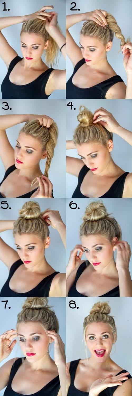 Đủ kiểu biến tấu với tóc búi cho mùa đông sôi động - 3