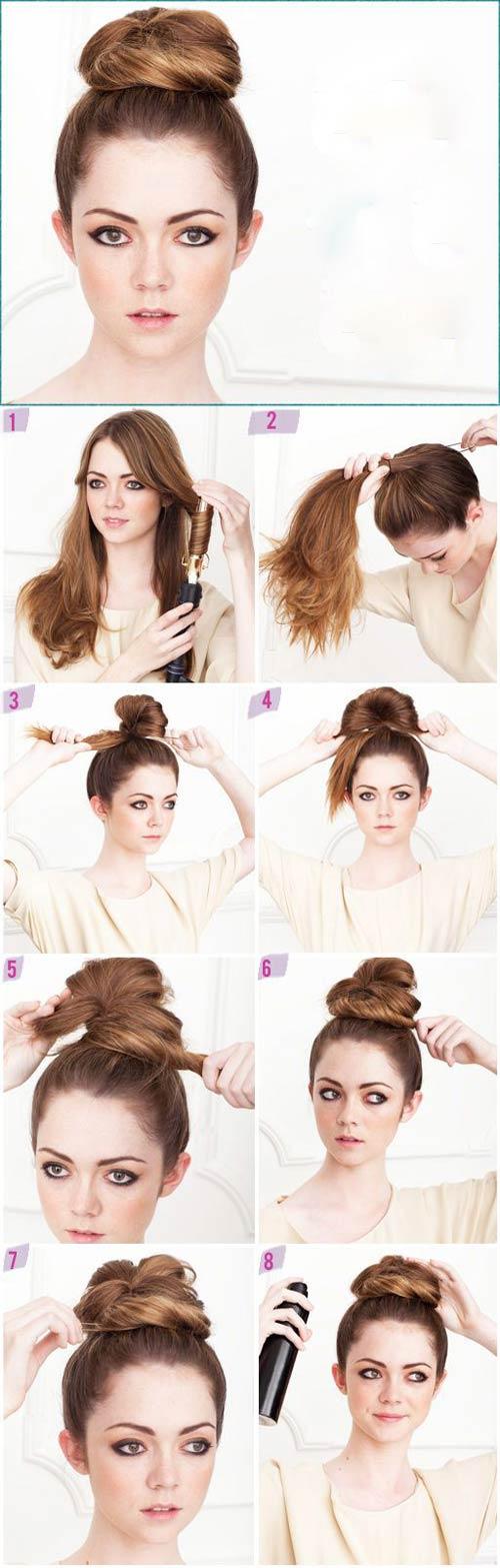 Đủ kiểu biến tấu với tóc búi cho mùa đông sôi động - 4