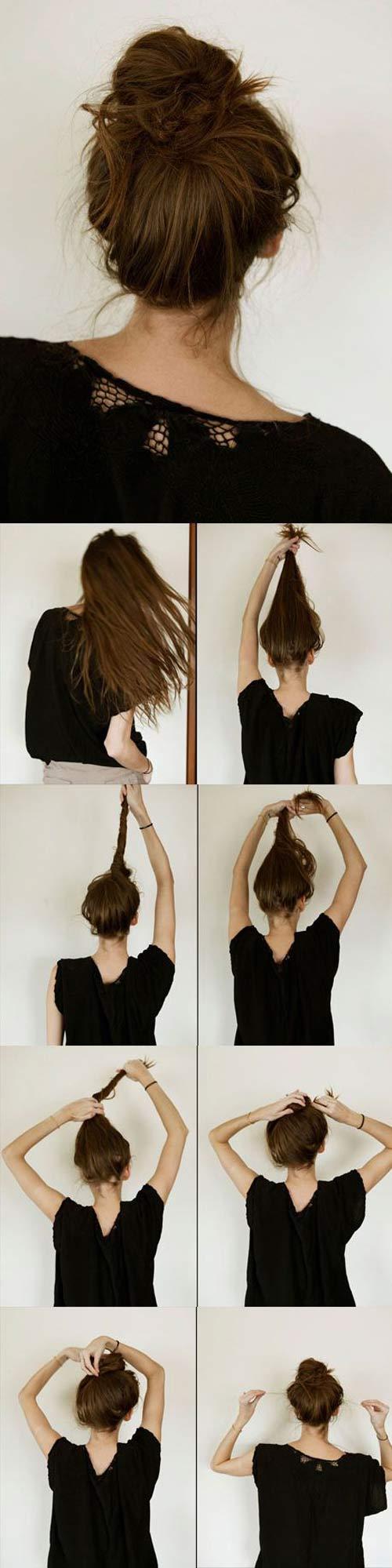 Đủ kiểu biến tấu với tóc búi cho mùa đông sôi động - 5