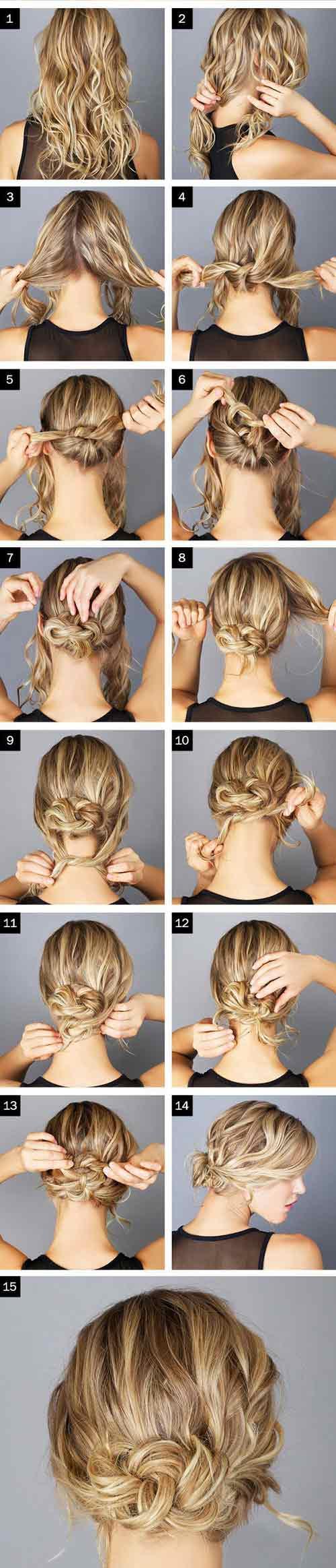 Đủ kiểu biến tấu với tóc búi cho mùa đông sôi động - 6