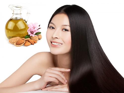 Cách giúp mái tóc bóng mượt nhờ dầu