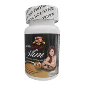 Viên uống Giảm Cân Biotin Collagen Slim
