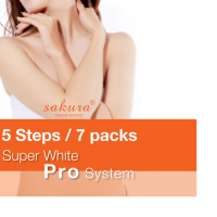 Bộ kem tắm trắng cao cấp tiêu chuẩn Spa Sakura Super White Pro System
