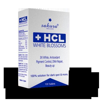 Viên Uống Sakura HCL White Blossom