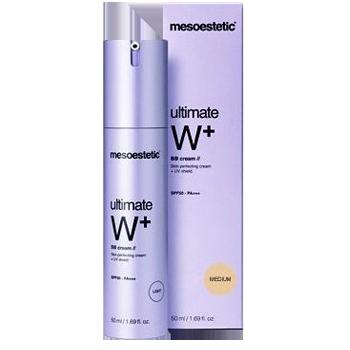 Kem trang điểm dưỡng trắng Mesoestetic Ultimate W+ Whitening BB Cream Medium SPF50