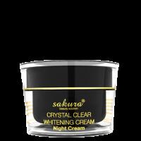 Kem giúp giảm Nám, Trắng Da Sakura Whitening Night Cream