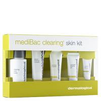 Bộ kit dưỡng dành cho da mụn Dermalogica mediBac Clearing Adult Acne Kit