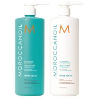 Cặp dầu gội dưỡng ẩm Moroccanoil Hydration 500ml