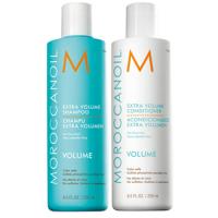 Cặp dầu gội đầu làm phồng tóc Moroccanoil Volume