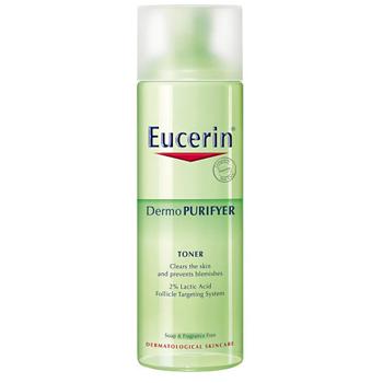 Nước hoa hồng se lỗ chân lông, hỗ trợ giảm mụn Eucerin Purifyer Toner