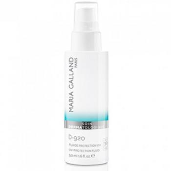 Kem chống nắng giảm nám trắng da Maria Galland UV protection fluid SPF30