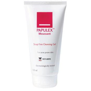 Gel rửa mặt không chứa xà phòng Papulex Soap Free Cleansing Gel
