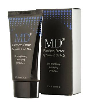 Kem dưỡng da trang điểm chống nắng ban ngày MD Flawless Factor SPF 35PA++