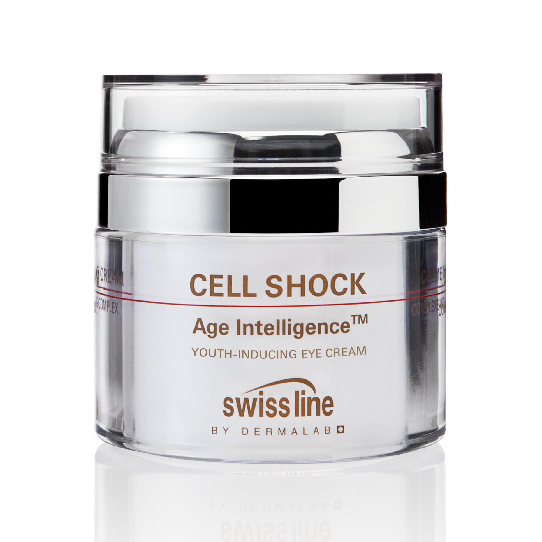 Kem trẻ hóa da vùng mắt Swissline Cell Shock Age IntelligenceTM Youth-Inducing Eye Cream
