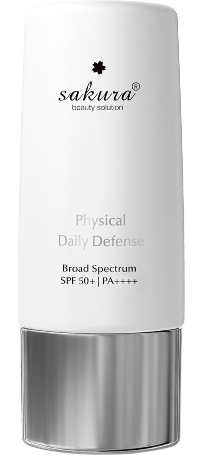 Nhũ tương chống nắng vật lý Sakura Physical Daily Defense SPF 50+ PA ++++
