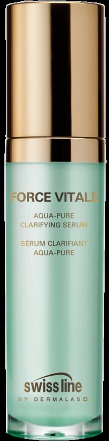 Huyết thanh đặc trị mụn viêm, se khít lỗ chân lông Swiss Line Force Vitale Aqua-Pure Clarifying Serum
