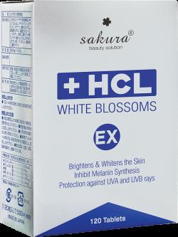 Viên uống giảm nám chuyên sâu Sakura HCL White Blossoms EX
