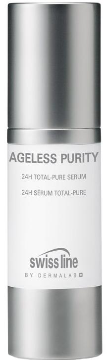 Tinh chất giúp giảm mụn Swissline 24h Total Pure Serum