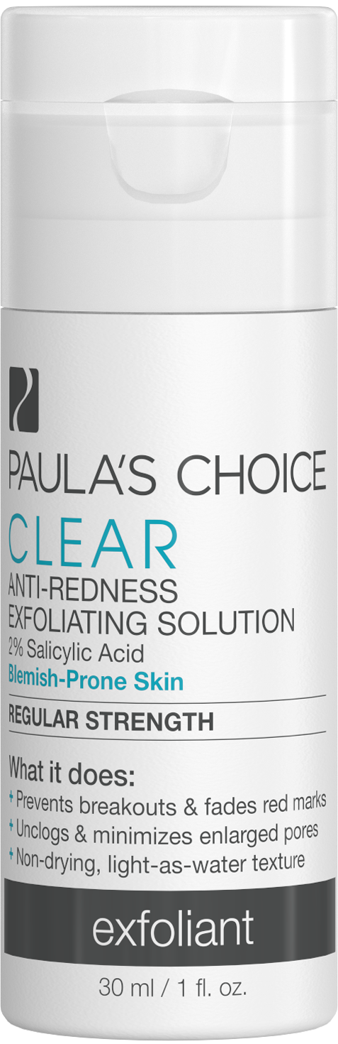 Tinh chất giảm mụn và ban đỏ Paula's Choice Clear Regular Strength Anti-Redness Exfoliating Solution 30ml