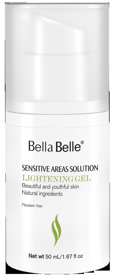 Gel làm hồng nhũ hoa Bella Belle Sensitive Areas Solution Lightening Gel
