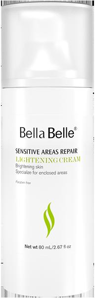 Kem dưỡng trắng da vùng nhạy cảm Bella Belle Sensitive Areas Repair Lightening Cream