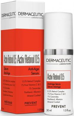 Serum giảm nhăn cho da lão hoá sớm Dermaceutic Activ Retinol 0.5‰