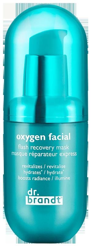 Mặt nạ thải độc, làm trắng da Dr. Brandt Oxygen Facial Flash Recovery Mask