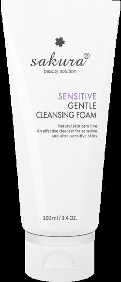 Sữa rửa mặt dành cho da nhạy cảm Sakura Sensitive Gentle Cleansing Foam