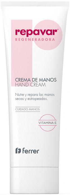 Kem dưỡng da tay Repavar Regeneradora Hand Cream 75ml