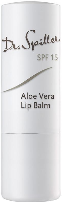 Son dưỡng môi chống nắng Dr Spiller Aloe vera Lip Balm SPF 15