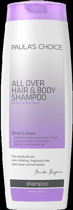 Dầu gội và tắm cao cấp 2 trong 1 Paula's Choice All Over Hair and Body Shampoo