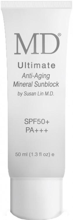 Kem chống nắng , trang điểm, ngăn ngừa lão hóa MD Ultimate Anti-Aging Mineral Block SPF50+