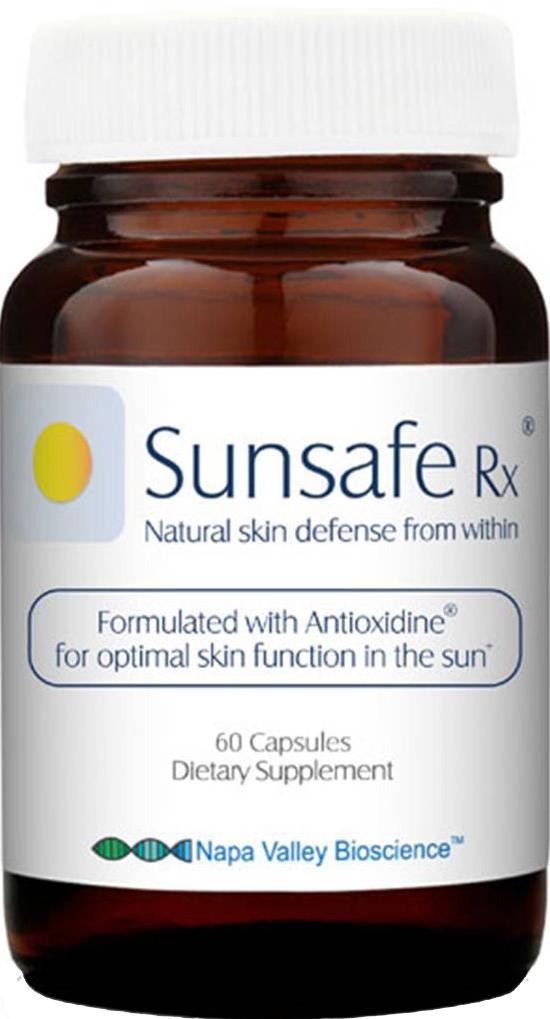 Viên uống chống nắng Sunsafe Rx làm trắng da 60 viên
