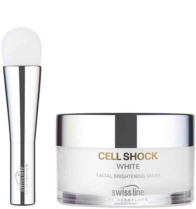 Mặt nạ trắng sáng đặc trị nám & đốm nâu Cell Shock White Facial Brightening Mask