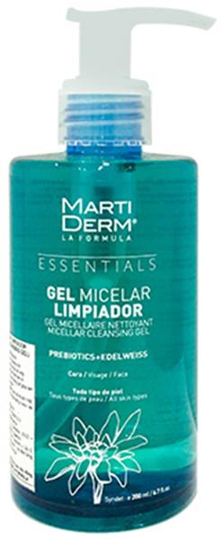 Sữa rửa mặt dạng gel MartiDerm Micelar Limpiador